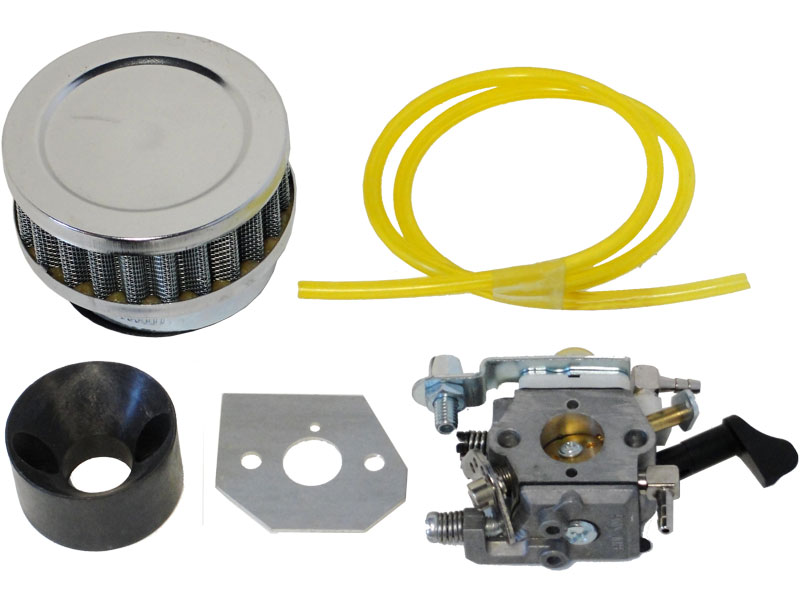 Instructions - High Performance Carburetor and Air filter