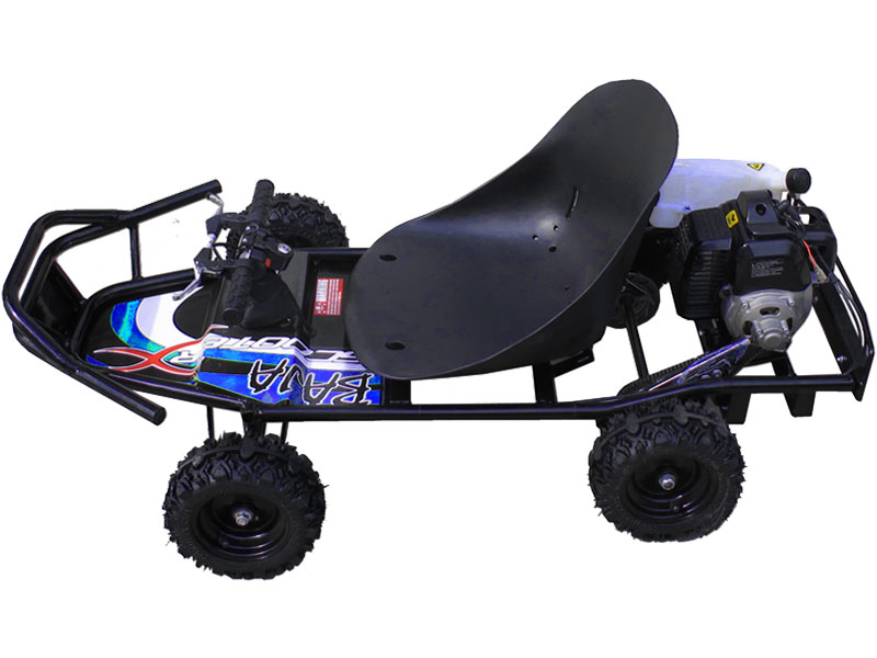 Power Kart 50 BAJA - Black/Blue