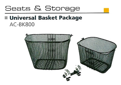 Front & Rear Basket Set