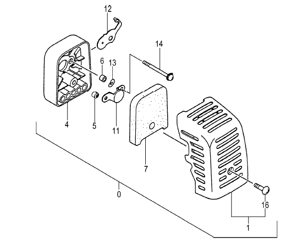 Air Filter Assembly 33cc