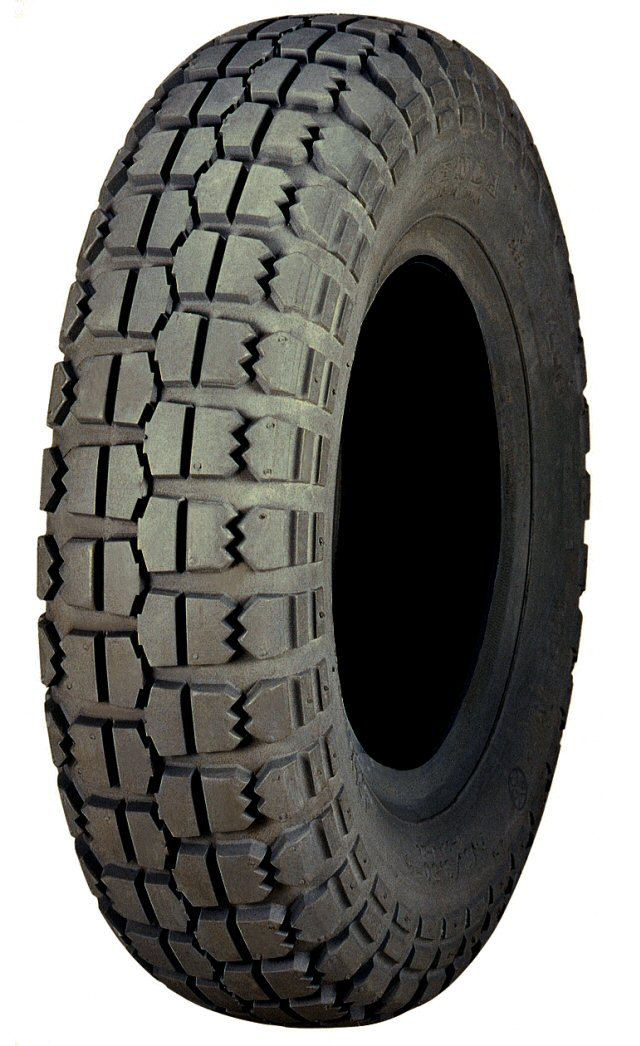 Tire, 10 inch - On / Off Road, 50/50 tread patttern