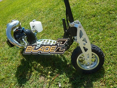 Custom Modified 2 Speed 50cc with Powerpipe
