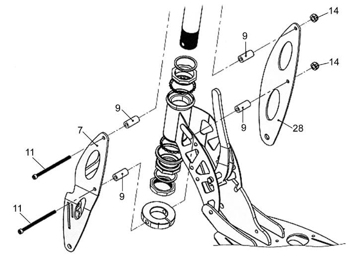 bladez scooters wiring diagram