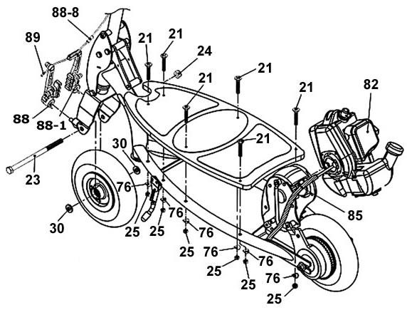 Harley mini chopper Manual Wiring