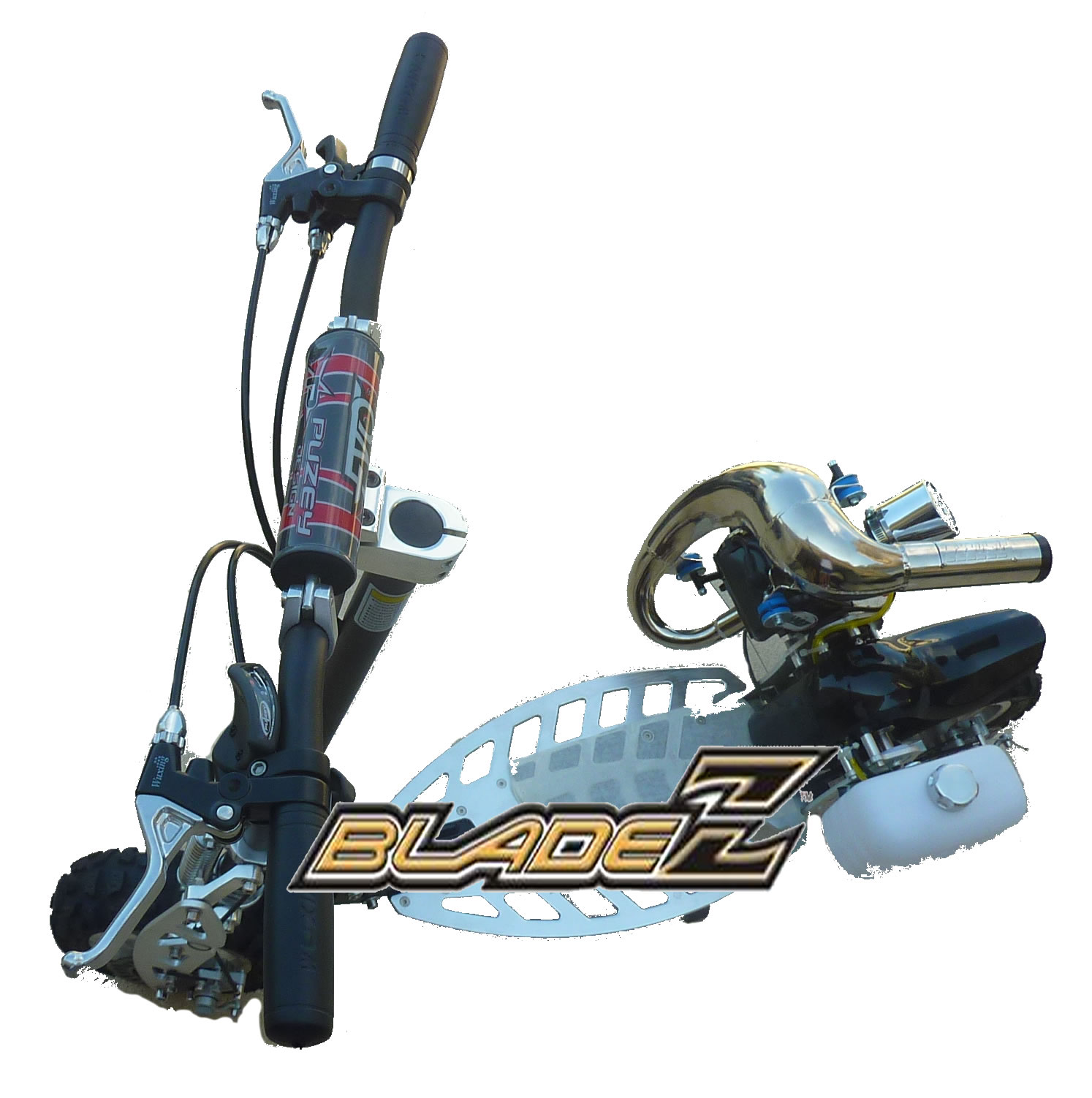 New Products Bladez The Sport Of Commuting Xtr Electric Scooter Wiring Schematics Custom Modified 2 Speed 50cc With Powerpipe